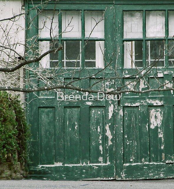 Behind the Green Door by Brenda Dow