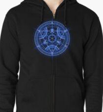 Human Transmutation Circle Zipped Hoodie