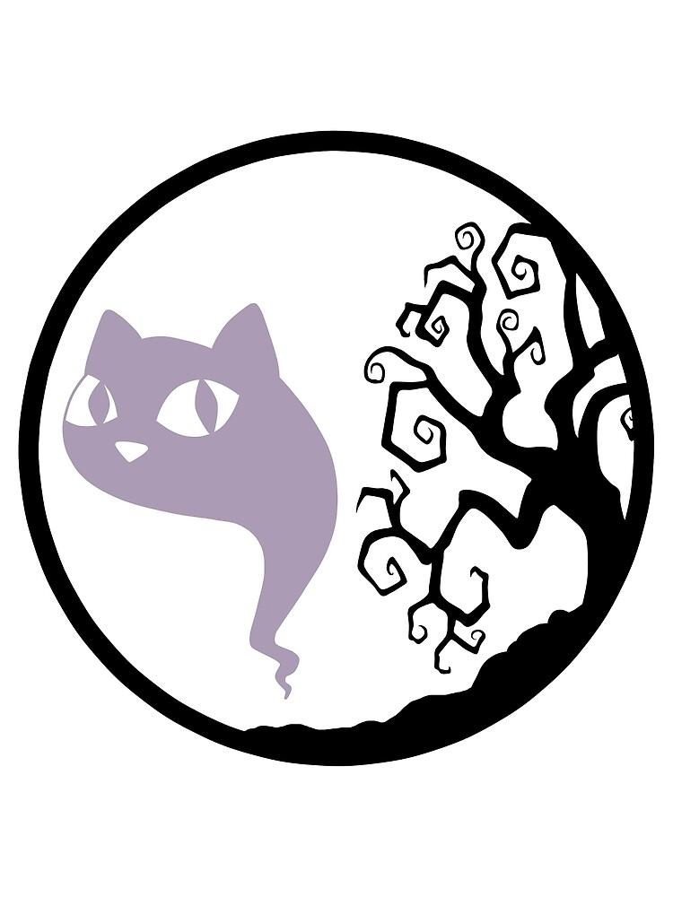 Tree Ghost Purple by DeliriumLina