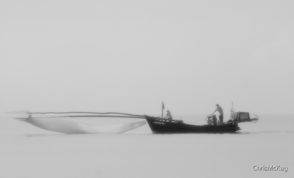 Traditional Vietnamese Fishing Trawler by ChrisMcKay
