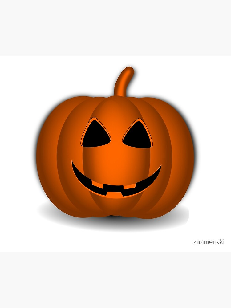 Pumpkin Halloween #halloween #pumpkin #orange #autumn #holiday #isolated #lantern #october #evil #face #jackolantern #horror #scary #jack #decoration #spooky #3d #illustration #season #smile #black by znamenski