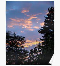 Suburban Sunset Poster