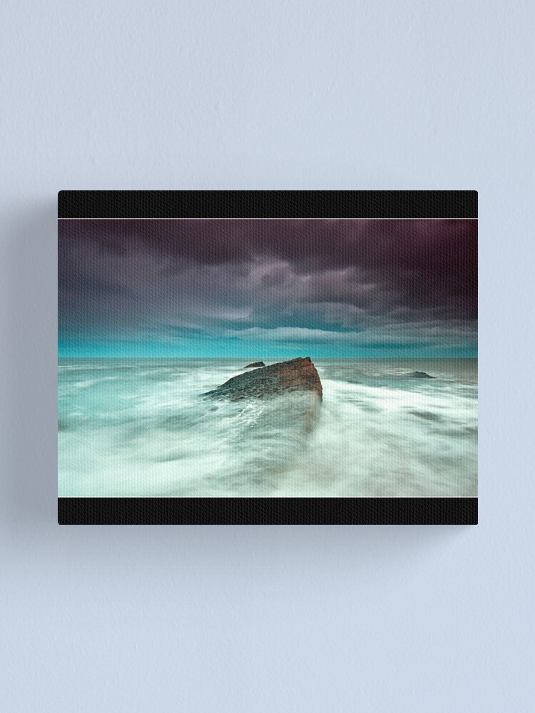 Alternate view of wet feet Canvas Print