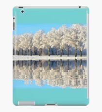 NATURES WINTER MIRROR iPad Case/Skin