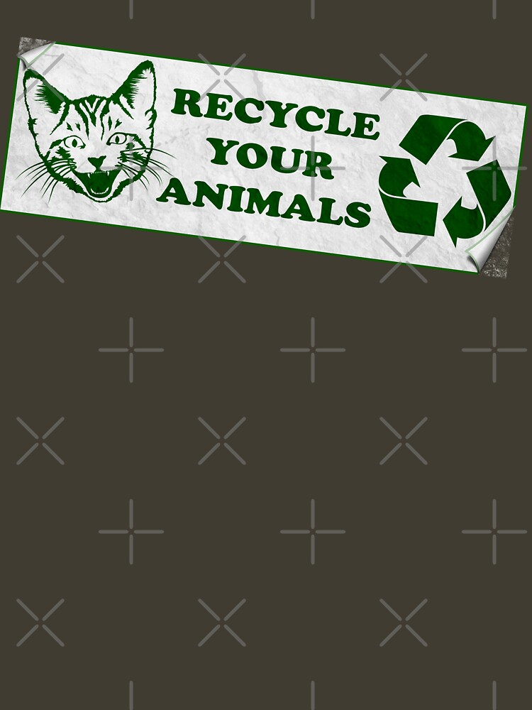 Recycle your Animals - Fight Club | Unisex T-Shirt