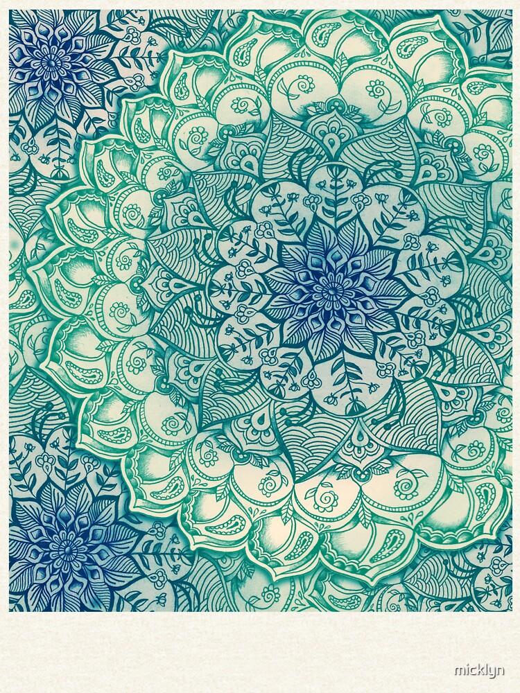 Smaragd-Gekritzel von micklyn