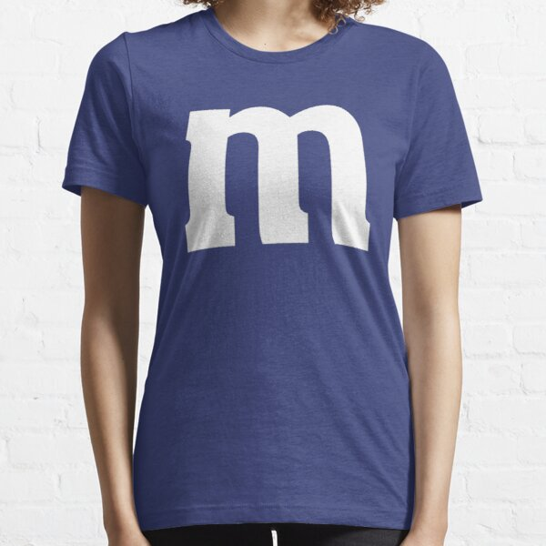 Halloween Candy M&M Last Minute Costume Blue Essential T-Shirt