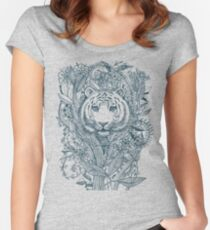 Tiger Tangle Women's Fitted Scoop T-Shirt