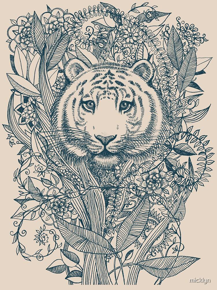 Tiger Tangle   Women's T-Shirt