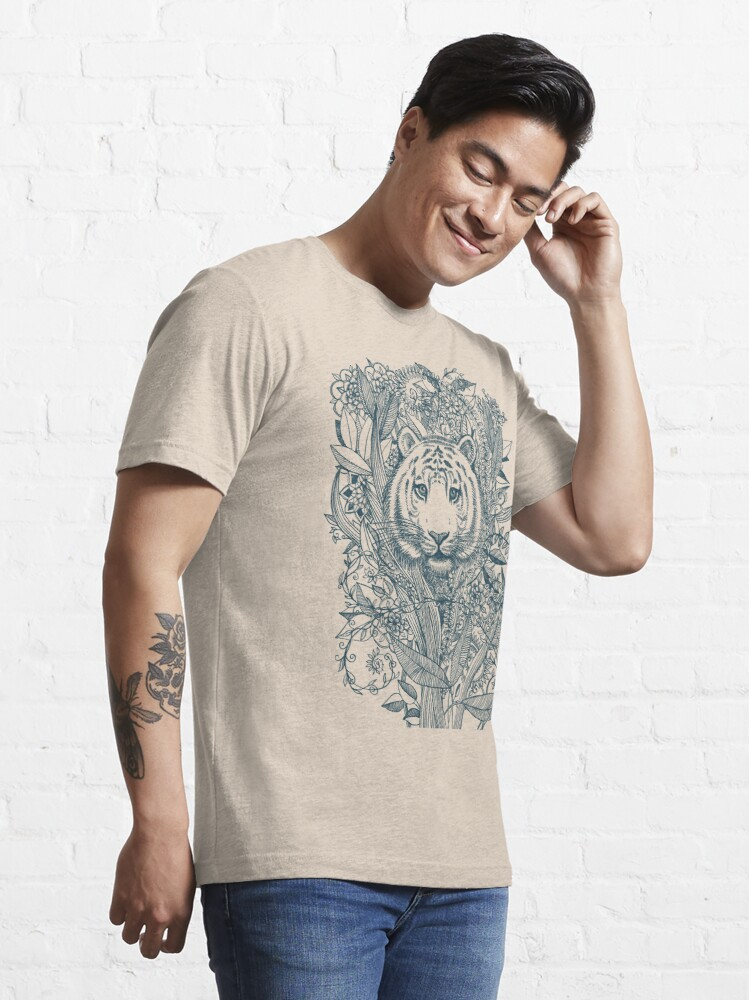 Alternate view of Tiger Tangle Essential T-Shirt