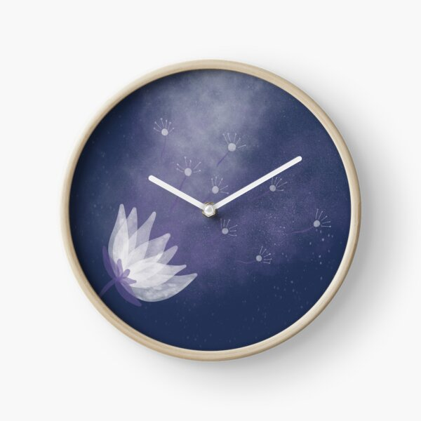 Universe Cosmos Astral Flower Clock