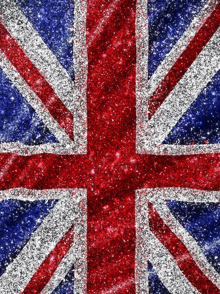 Glitter Union Jack Flag UK Sequin by newyorker01