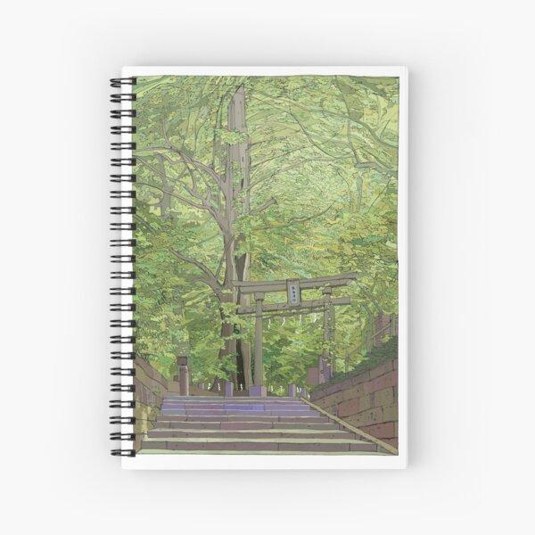 Ginko tree Yanesen Spiral Notebook