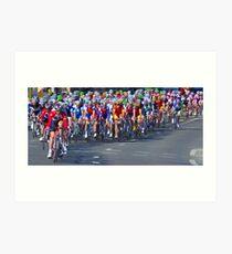 Mallorca Challenge 2011 Cycle Race III Art Print