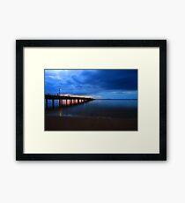 Kingfisher Bay Framed Print