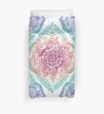 Indian Ink - Rainbow version Duvet Cover