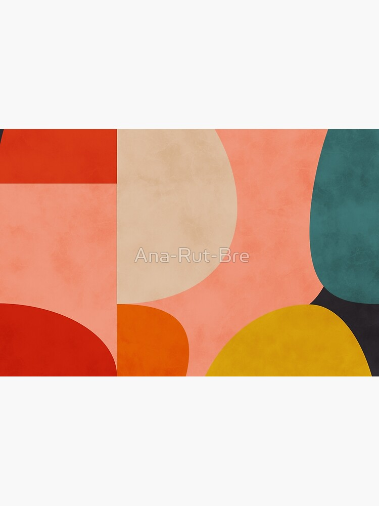 geometric shapes abstract 2 by Ana-Rut-Bre