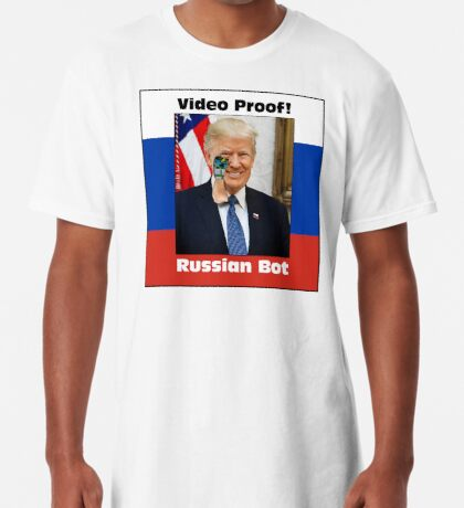 Russian Bot Trump Long T-Shirt
