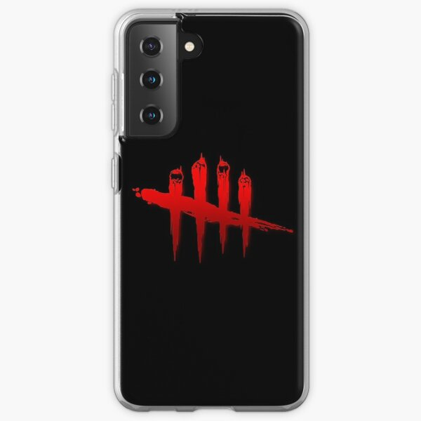 dead by daylight logo (blood red) Samsung Galaxy Soft Case