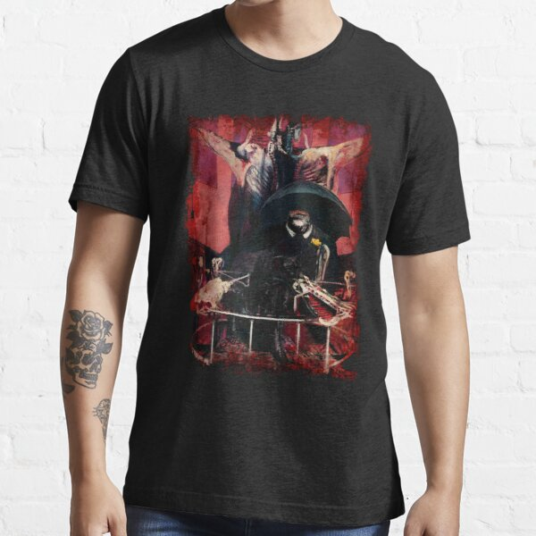 Francis Bacon Painting Horror Art lover figure man Meat gift t shirt Essential T-Shirt