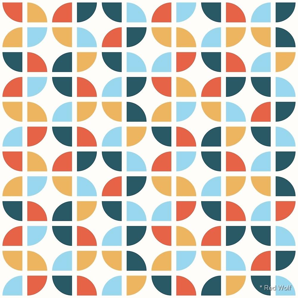 Geometric Pattern: Quarter Circle: Nala by * Red Wolf