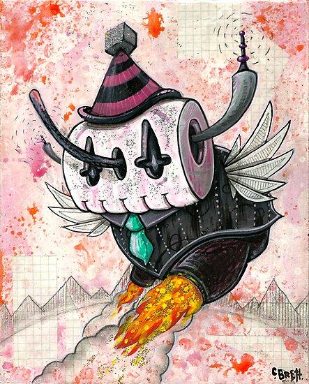 Skully Bot by Chris Brett