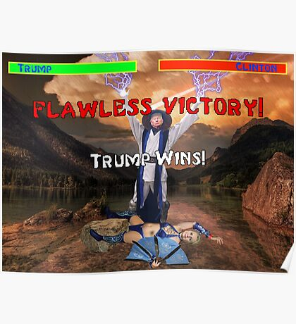 Trump's Flawless Victory Poster