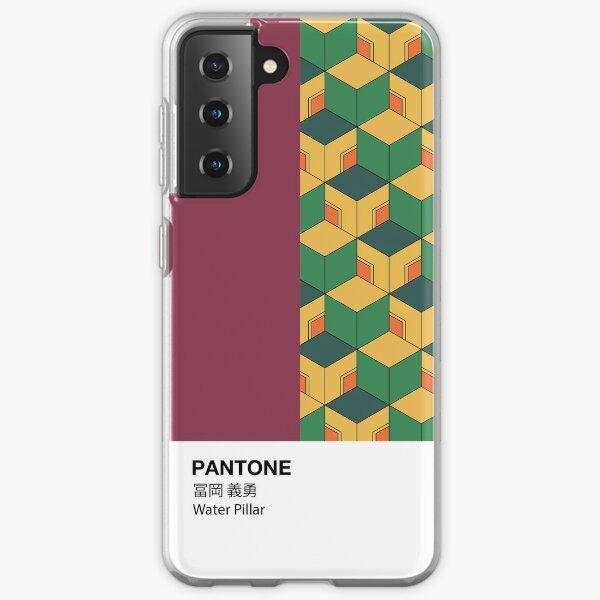 PANTONE Case Demon Slayer Giyu Tomioka Water Pillar Samsung Galaxy Soft Case