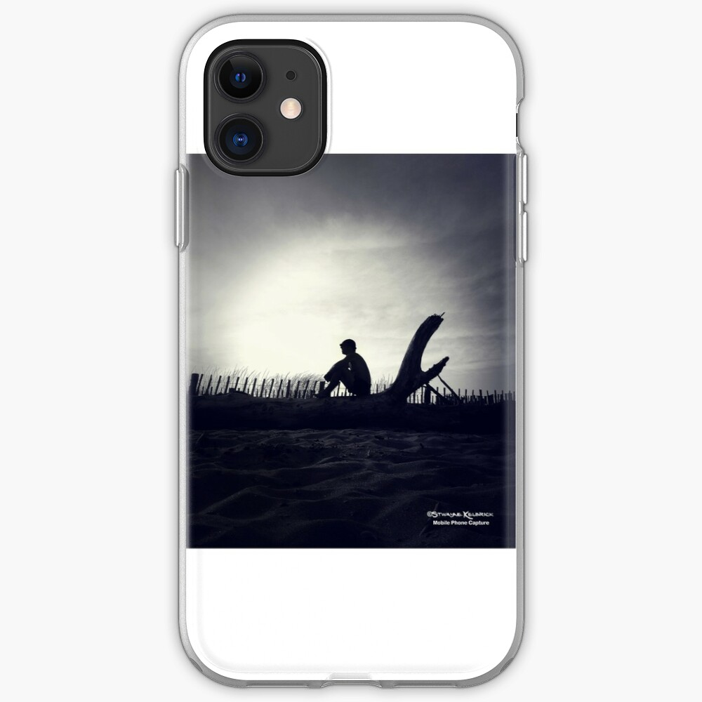 The Pastless Guy in The Shade iPhone Soft Case