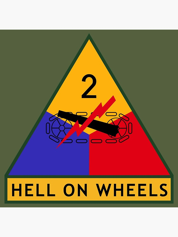 2nd Armored Division (United States) by wordwidesymbols