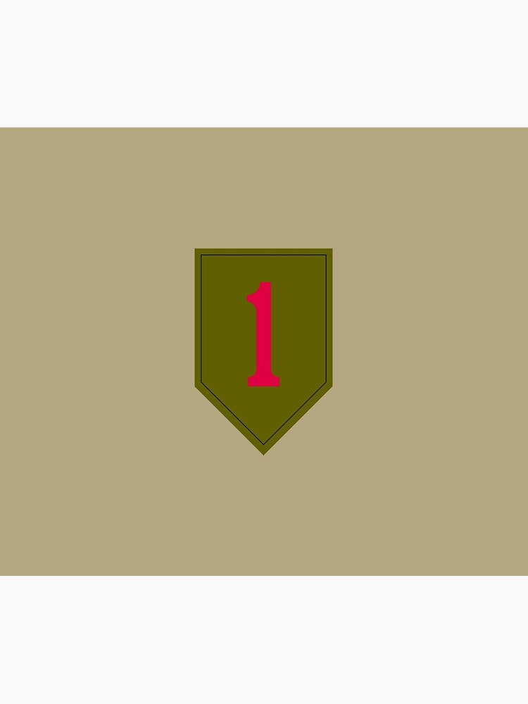 """1st Infantry Division """"The Big Red One"""" (United States Army) by wordwidesymbols"""