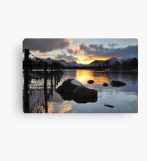Lakedistrict Sunset Canvas Print