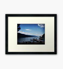 Flathead Lake, Montana Framed Print