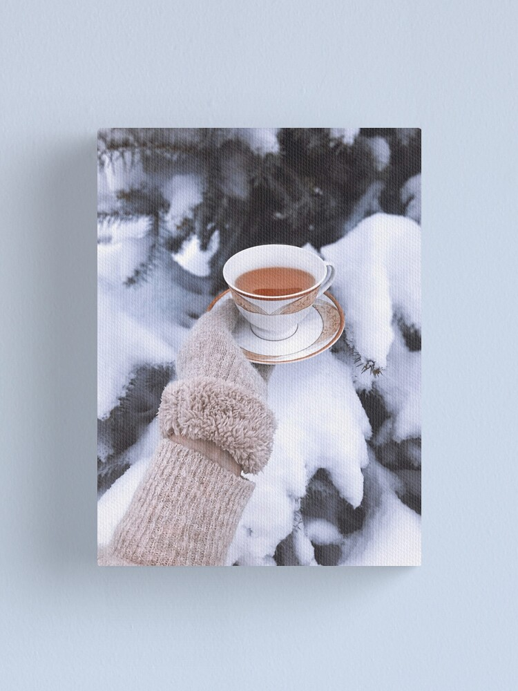 Winter Aesthetic Canvas Print By Tety Redbubble