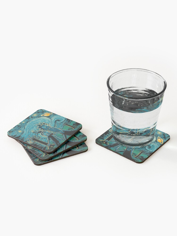 Alternate view of Impressionist Science Coasters (Set of 4)