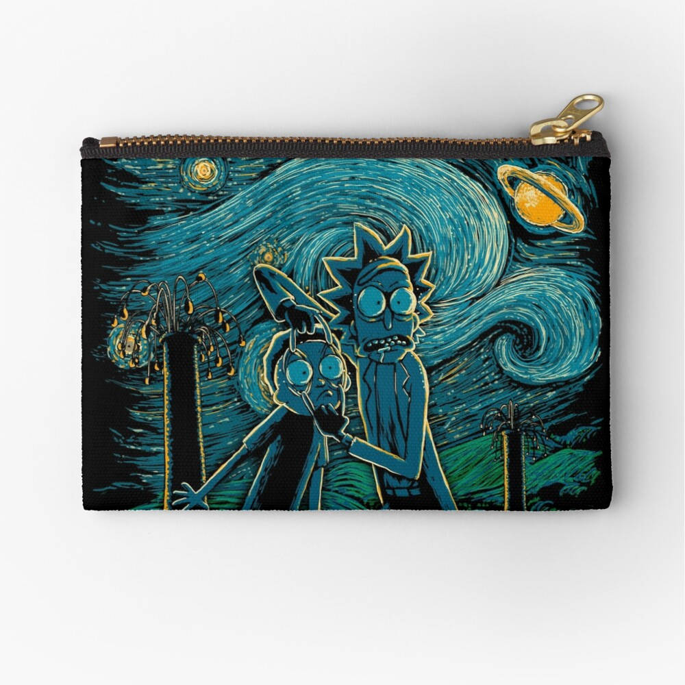 Impressionist Science Zipper Pouch
