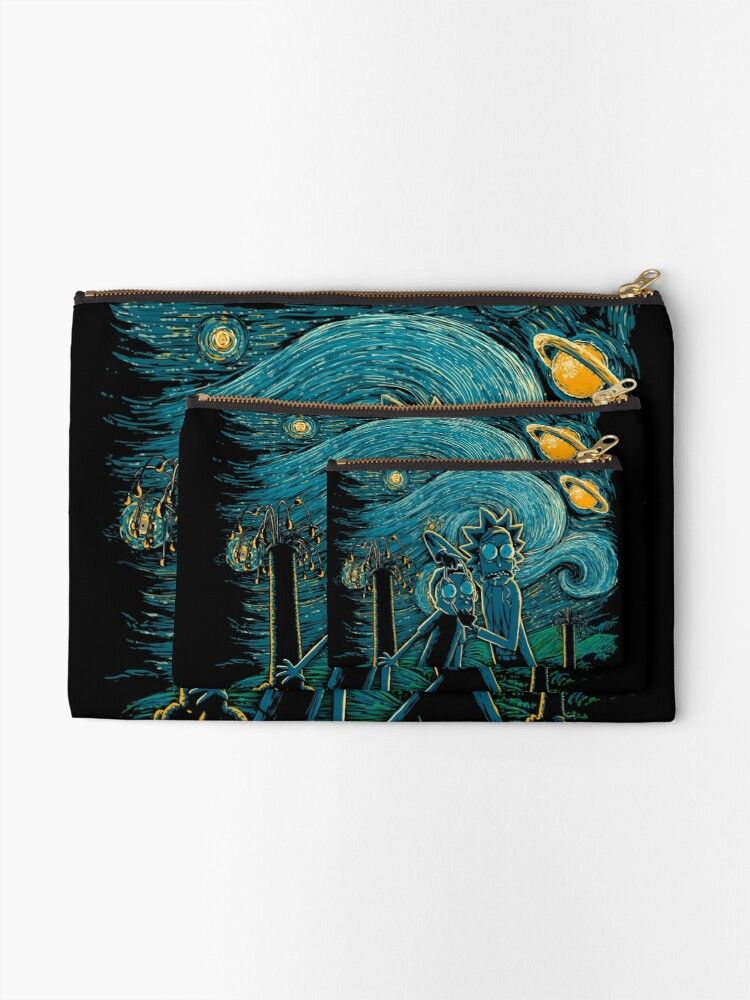 Alternate view of Impressionist Science Zipper Pouch