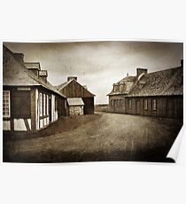 Louisbourg - textured Poster