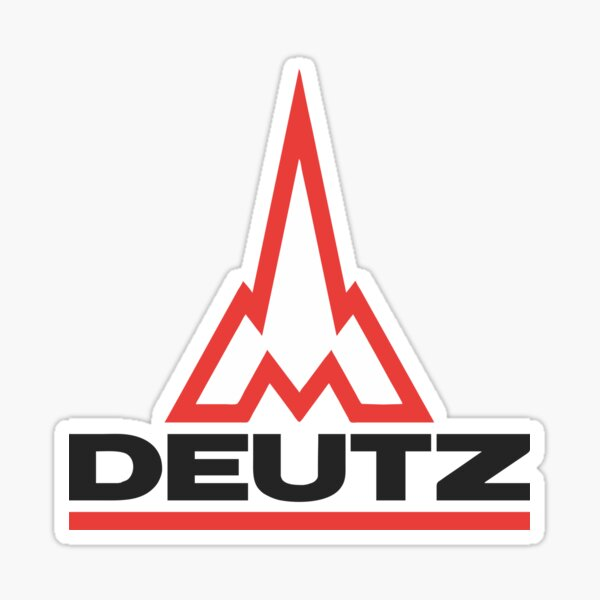 Deutz Merch Sticker