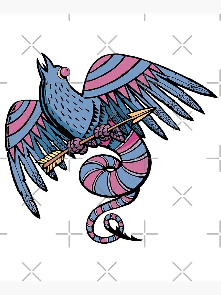 myth bird and the arrow by duxpavlic