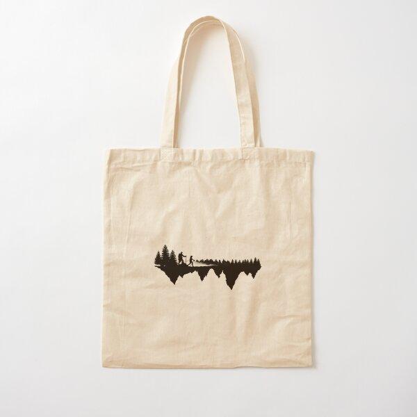 Hiking Life Cotton Tote Bag