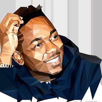 Kendrick Lamar   2015   FAN ART    by WAGarmentSupply