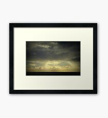 Evening At Hallett Cove Framed Print