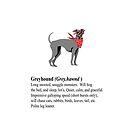 Greyhound Mug by leeseylee