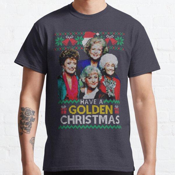 Golden Christmas Classic T-Shirt