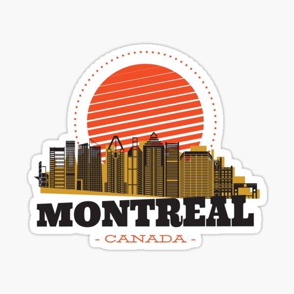 Montréal Canada Sticker
