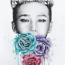 Triad Print - GD by Monica Sutrisna