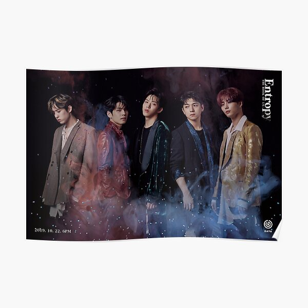 DAY6  Entropy album poster kpop merch n2 Poster
