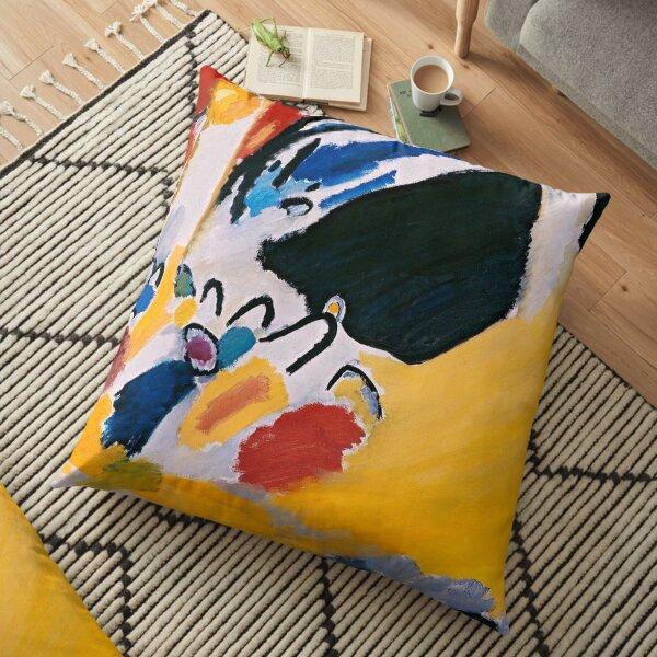 Impression III (Concert), 1911 Wassily Kandinsky Floor Pillow