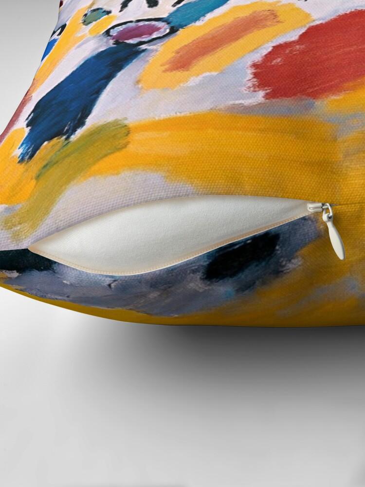 Alternate view of Impression III (Concert), 1911 Wassily Kandinsky Floor Pillow